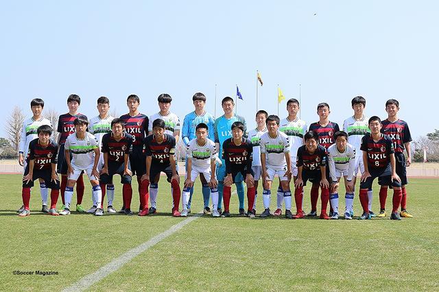 画像: 決勝戦を戦う鹿島と全北の選手たち