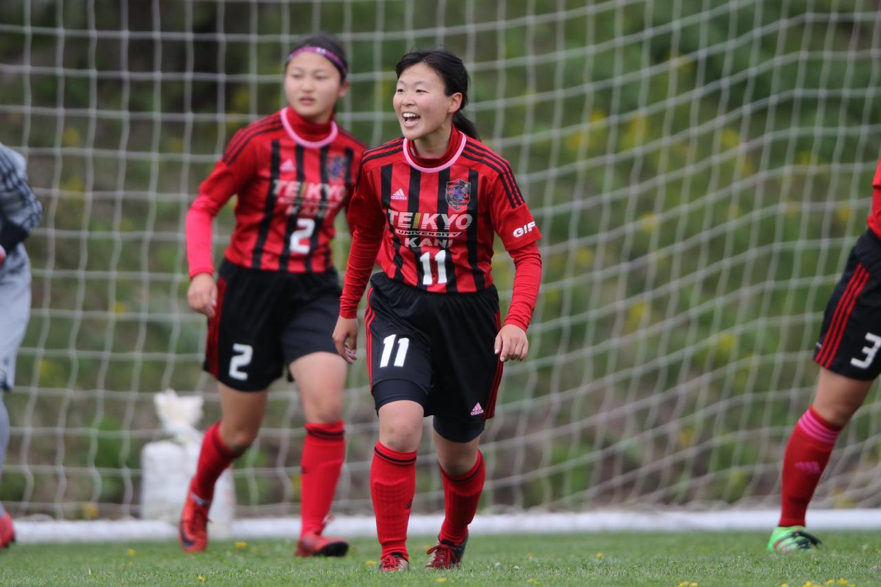 画像: 帝京大学可児高校女子サッカー部は今大会が初参加