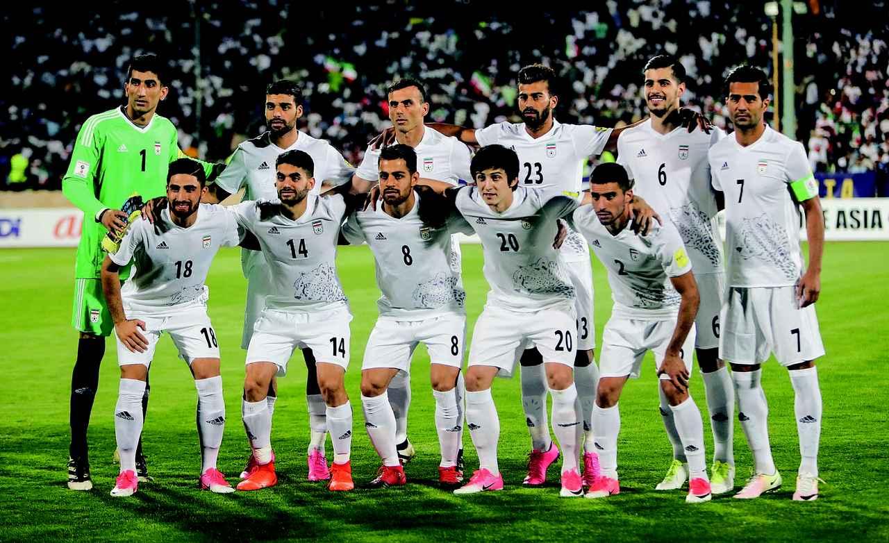 画像: イラン◎2大会連続5回目:1978,98,06,14年 / FIFAランク◎37位 / 監督◎カルロス・ケイロス