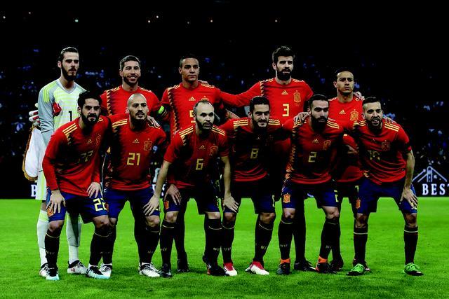 画像: スペイン◎11大会連続15回目:1934、50、62、66、78、82、86、90、94、98、2002、06、10、14年 / FIFAランク◎10位 / 監督◎ジュレン・ロペテギ