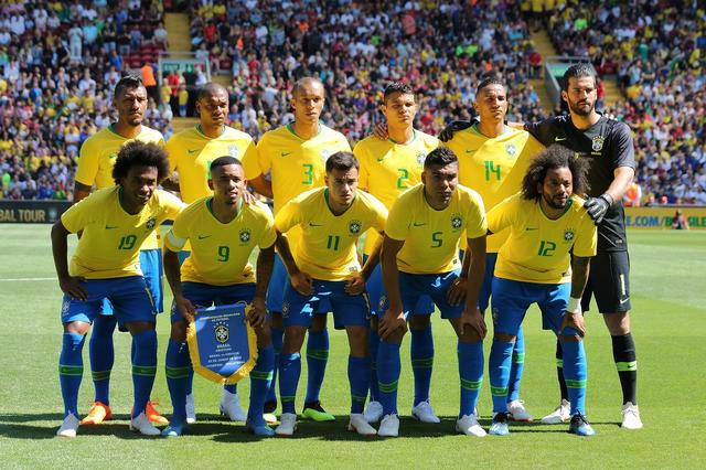 画像: ブラジル◎21大会連続21回目:1930、34、38、50、54、58、62、66、70、74、78、82、86、90、94、98、2002、06、10、14年 / FIFAランク◎2位 / 監督◎チッチ