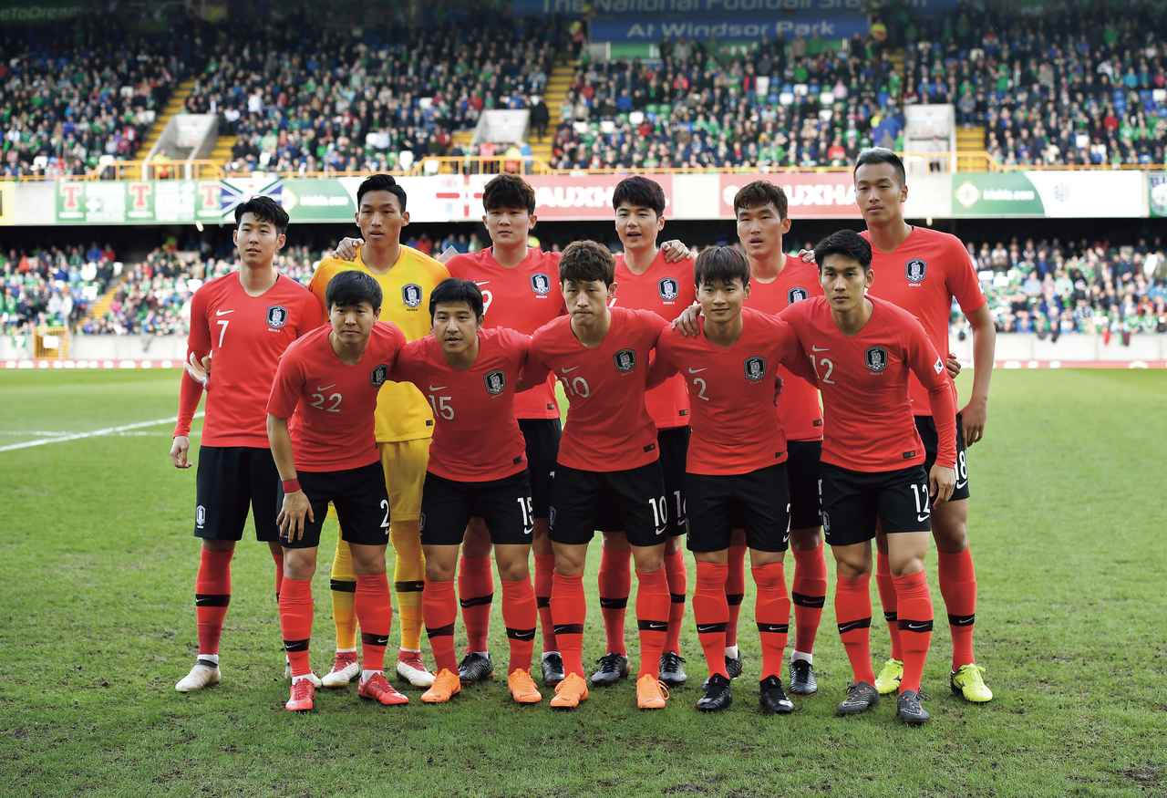 画像: 韓国◎9大会連続10回目:1954、86、90、94、98、02、06、10、14年 / FIFAランク◎61位 / 監督◎シン・テヨン