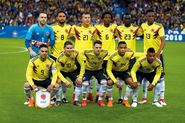 画像: コロンビア◎2大会連続6回目:1962、90、94、98、2014年 / FIFAランク◎16位 / 監督◎ホセ・ペケルマン