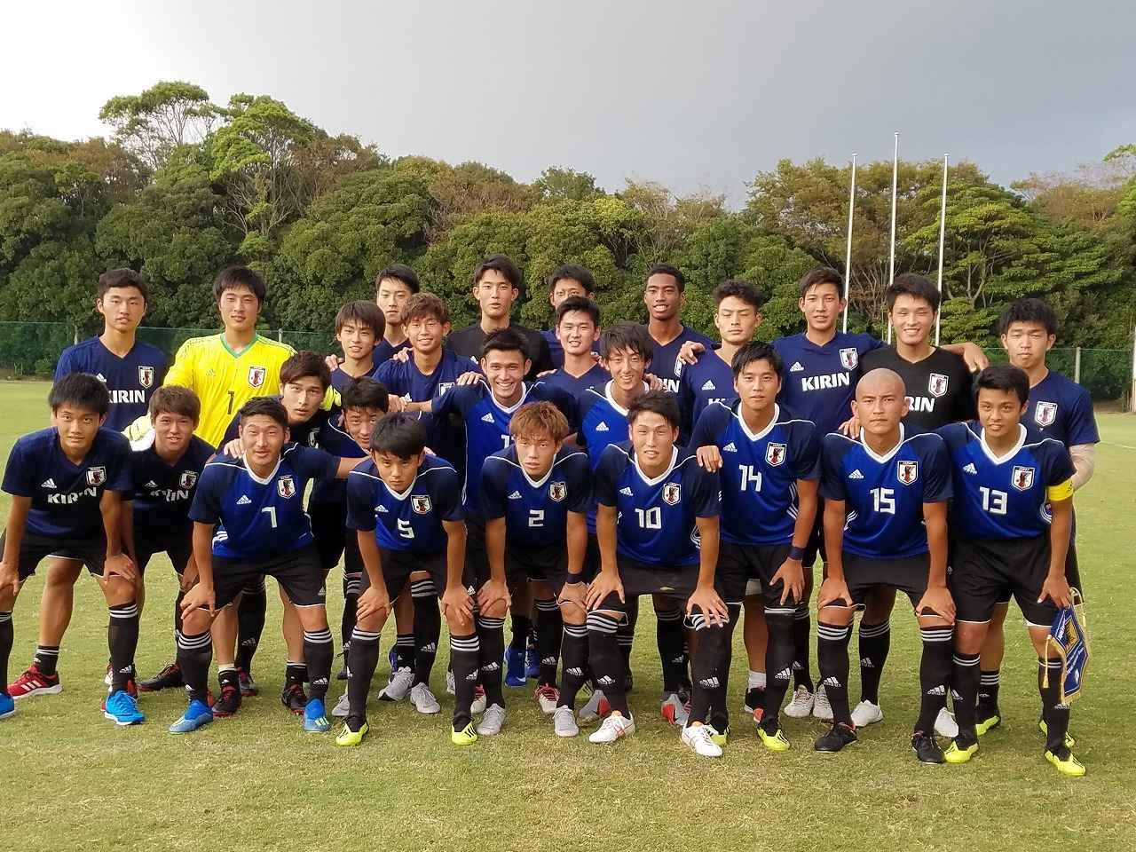 Images : 1番目の画像 - U-19ベトナム代表との練習試合の様子。C大阪の安藤や横浜FMの久保がプレーした 写真◎サッカーマガジン - サッカーマガジンWEB