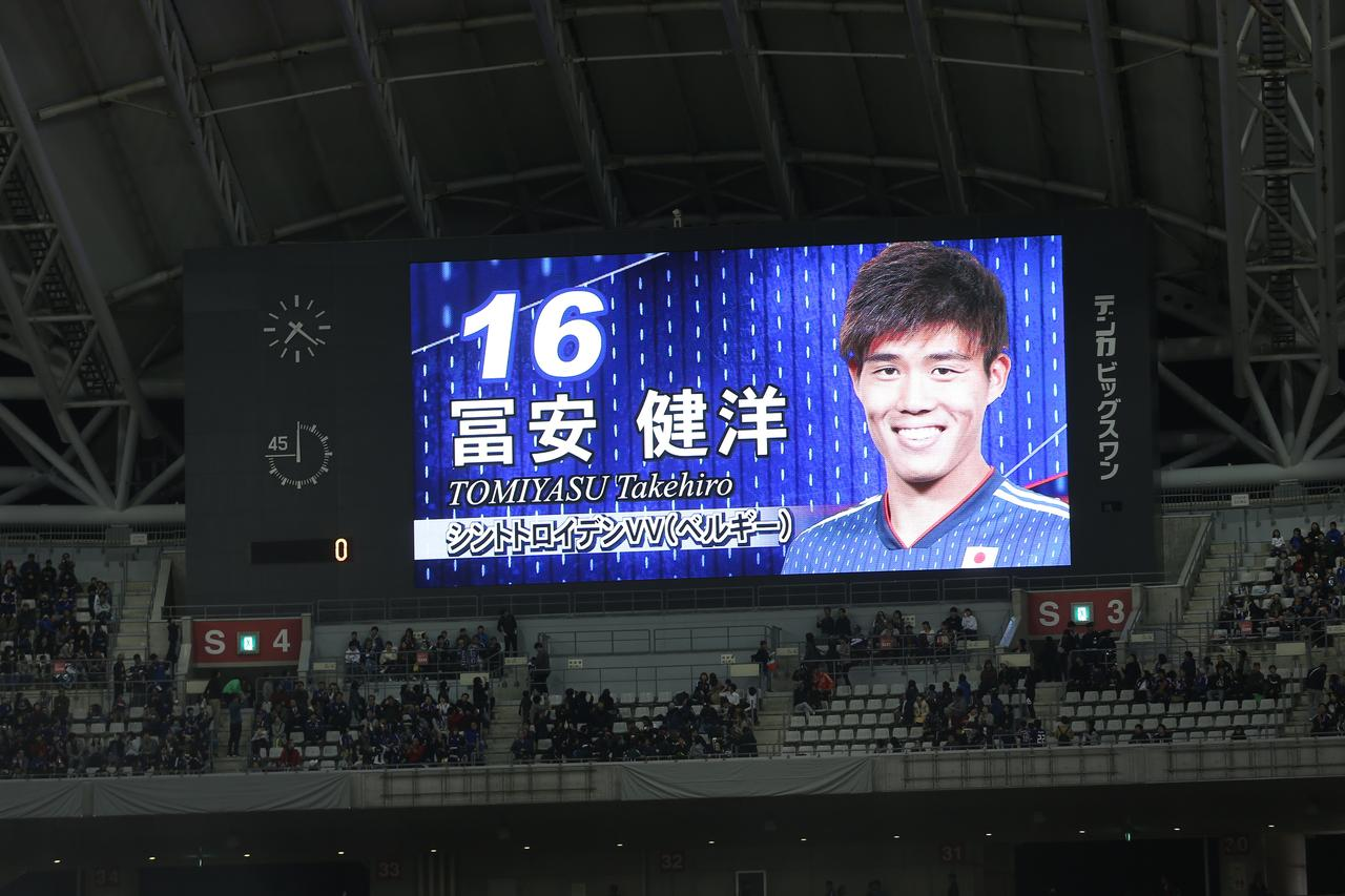 Images : 1番目の画像 - パナマ戦では冨安と同じく、北川航也も代表デビューを飾った - サッカーマガジンWEB