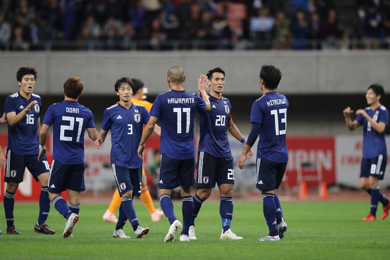 Images : 3番目の画像 - パナマ戦では冨安と同じく、北川航也も代表デビューを飾った - サッカーマガジンWEB