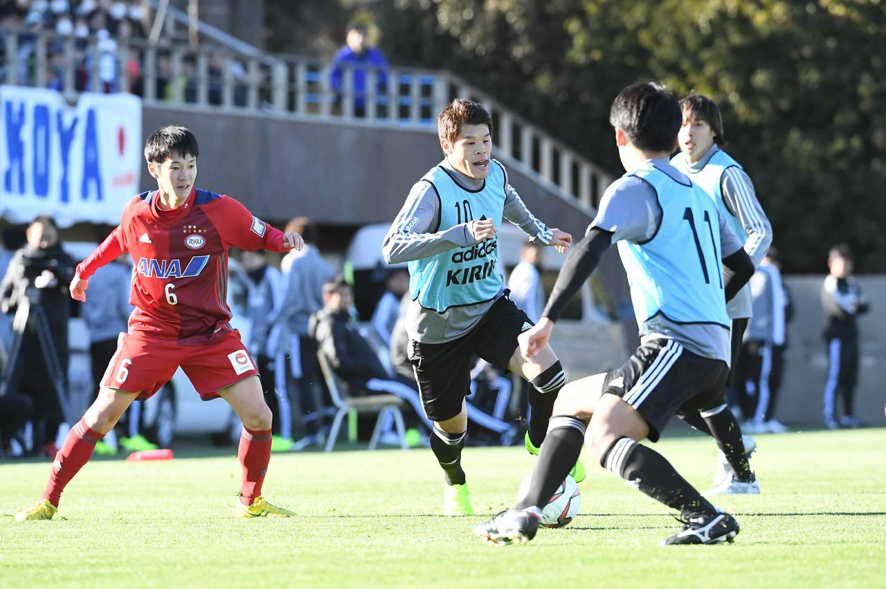 Images : 2番目の画像 - 国内合宿最終日に練習試合を行なった日本代表 - ベースボール・マガジン社WEB