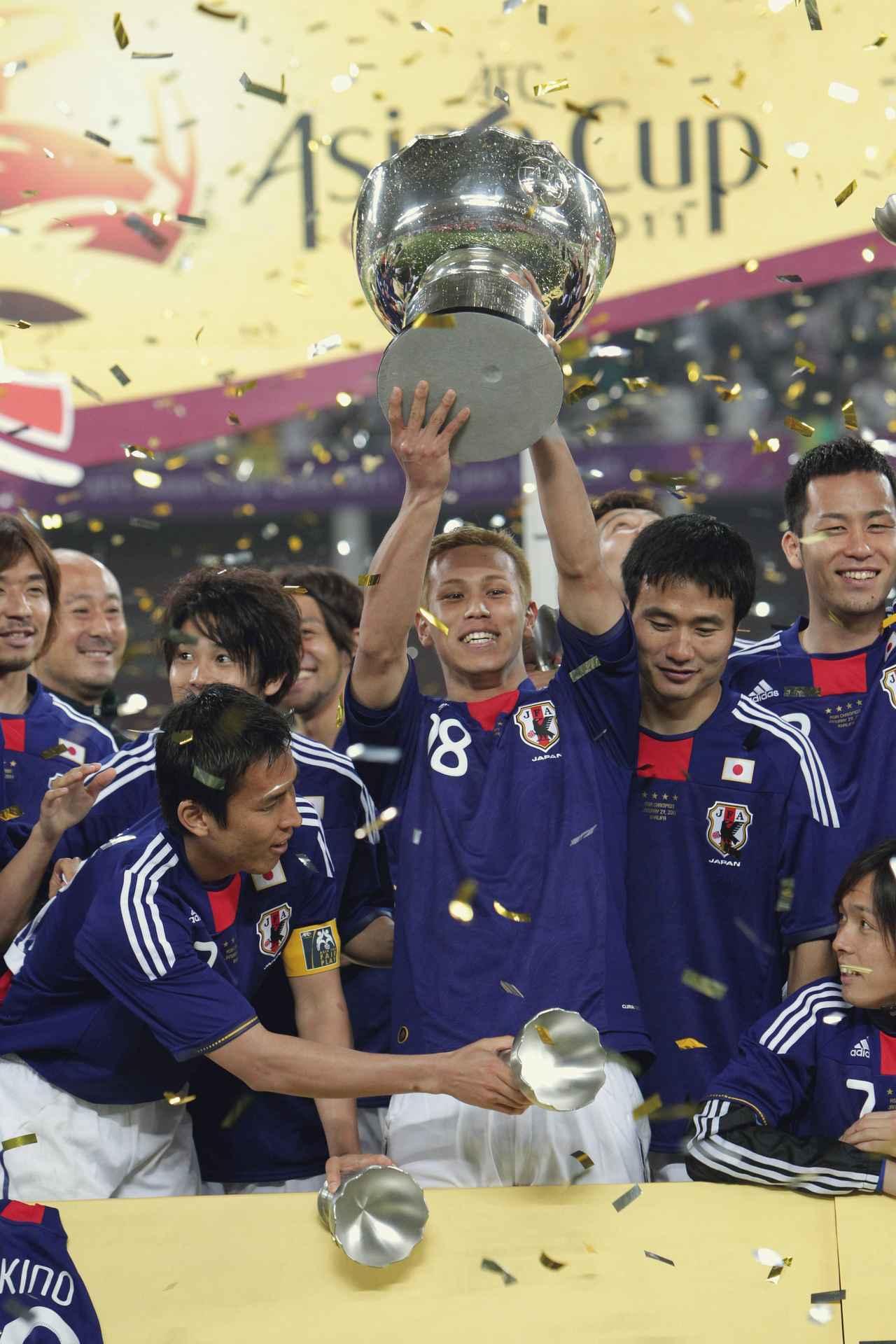 Images : 6番目の画像 - 幾多の苦闘を乗り越え、団結してアジア王座を奪還した日本(写真◎小山真司) - サッカーマガジンWEB