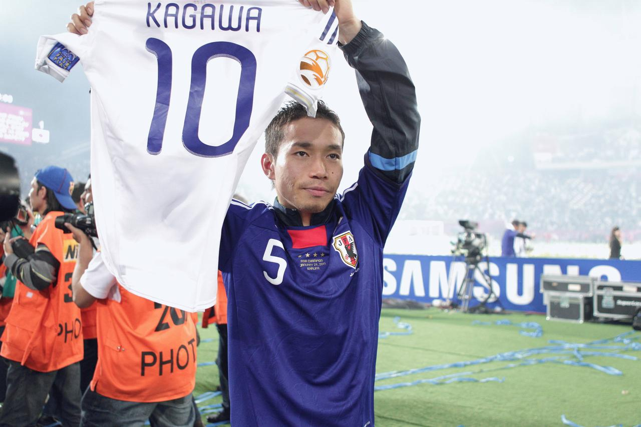 Images : 4番目の画像 - 幾多の苦闘を乗り越え、団結してアジア王座を奪還した日本(写真◎小山真司) - サッカーマガジンWEB