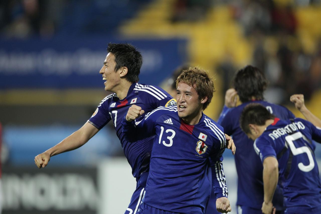 Images : 7番目の画像 - 幾多の苦闘を乗り越え、団結してアジア王座を奪還した日本(写真◎小山真司) - サッカーマガジンWEB