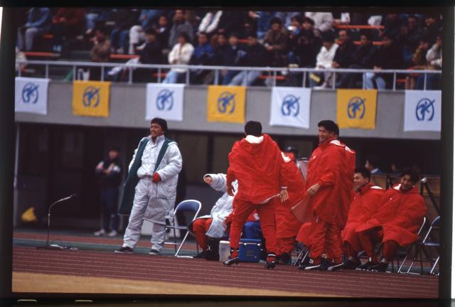 画像: 第69回大会で習志野を率いて準々決勝に進出した本田裕一郎監督(現・流経大柏監督/写真左)