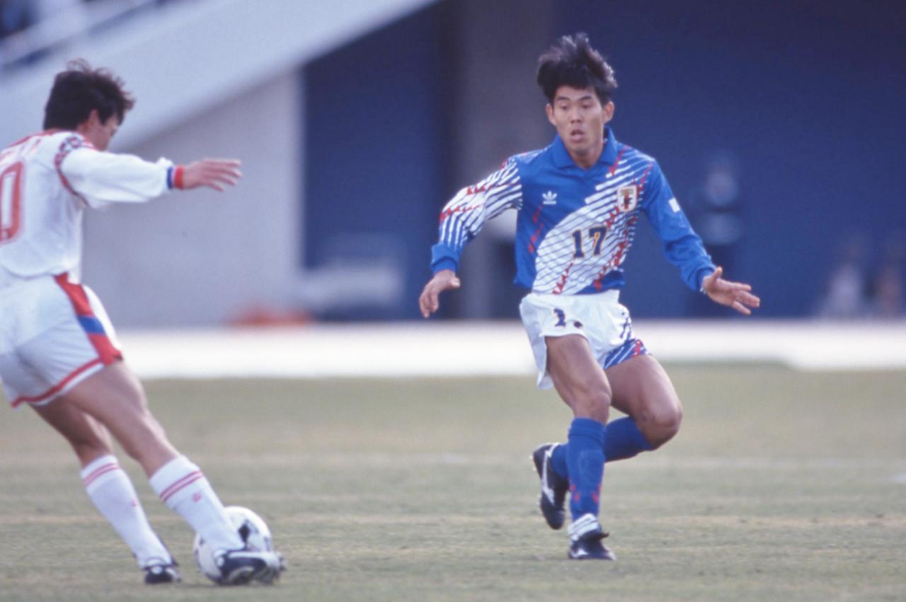 Images : 1番目の画像 - 1992年アジアカップ優勝に貢献した森保一 - ベースボール・マガジン社WEB