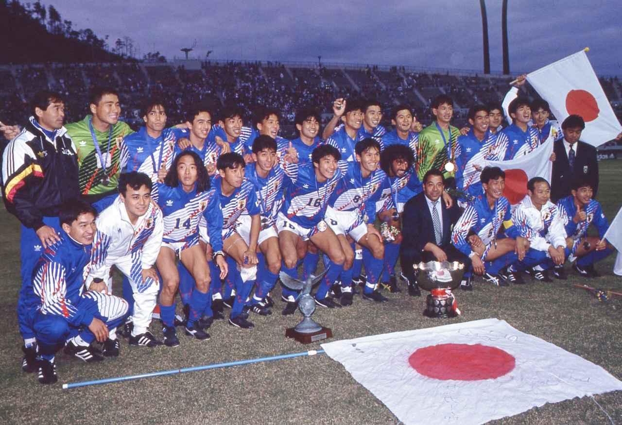 Images : 2番目の画像 - 1992年アジアカップ優勝に貢献した森保一 - ベースボール・マガジン社WEB