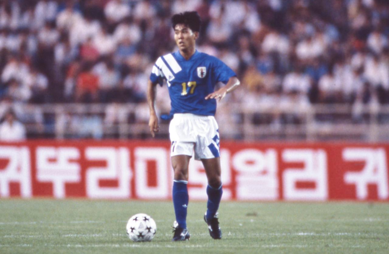 Images : 3番目の画像 - 1992年アジアカップ優勝に貢献した森保一 - ベースボール・マガジン社WEB