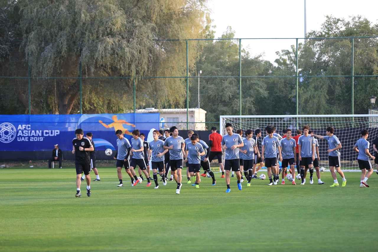 Images : 1番目の画像 - 26日、アルアインの練習上で、27日はスタジアムで練習した(写真◎福地和男) - サッカーマガジンWEB