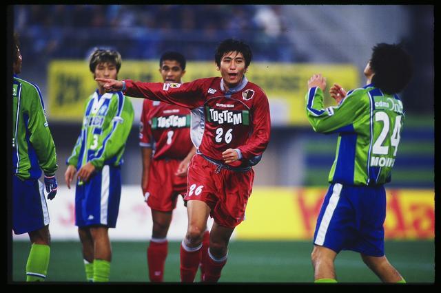 画像: 99年の中田は所属する鹿島でも出場時間を大きく伸ばした(写真◎J.LEAGUE)