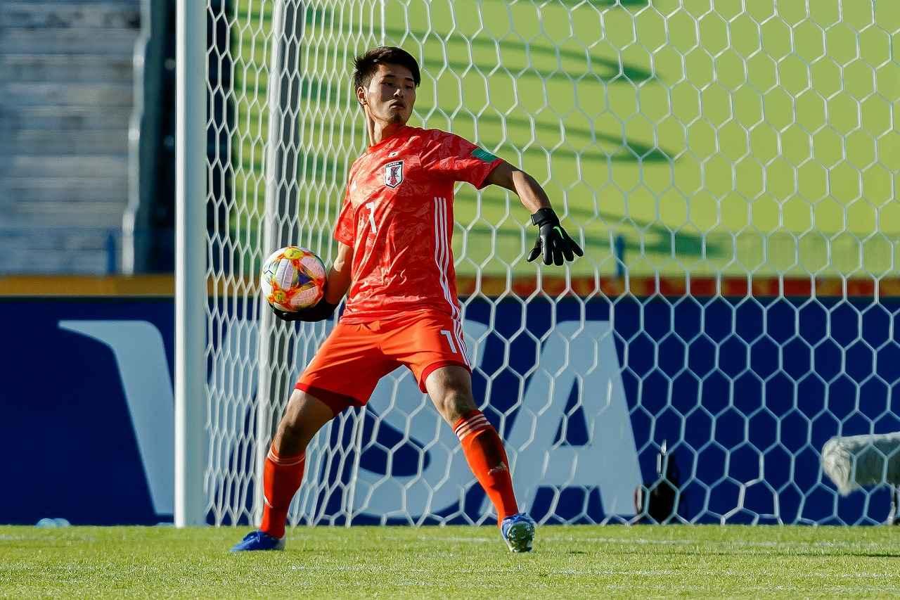 画像: GK若原はグループステージ3試合で1失点と安定している(写真◎Getty Images)