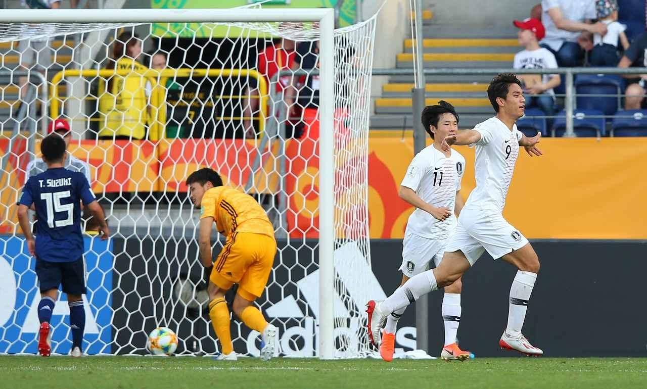 画像: U-20ワールドカップ・ラウンド16で韓国に決勝点を決められる。若原はこの失点シーンを忘れられないという(写真◎Getty Images)