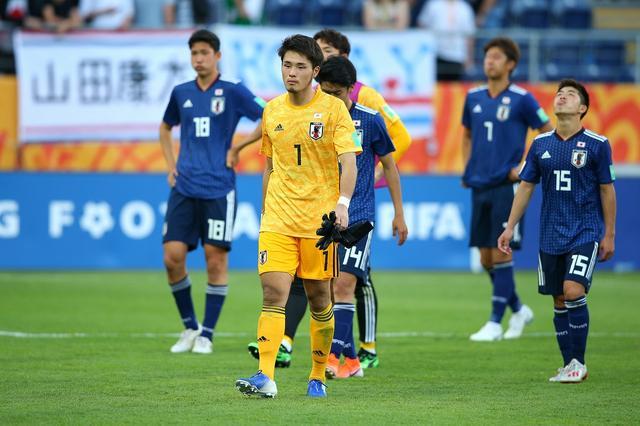 画像: U-20ワールドカップ・ラウンド16で敗退し、若原は悔し涙を流した(写真◎Getty Images)