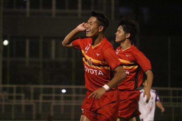 画像: 【クラブユース選手権】名古屋U-18が京都U-18に大勝し決勝進出~『予告通り』のゴールを決めたFW武内翠寿「まだ過程なので決勝でも」 - ベースボール・マガジン社WEB