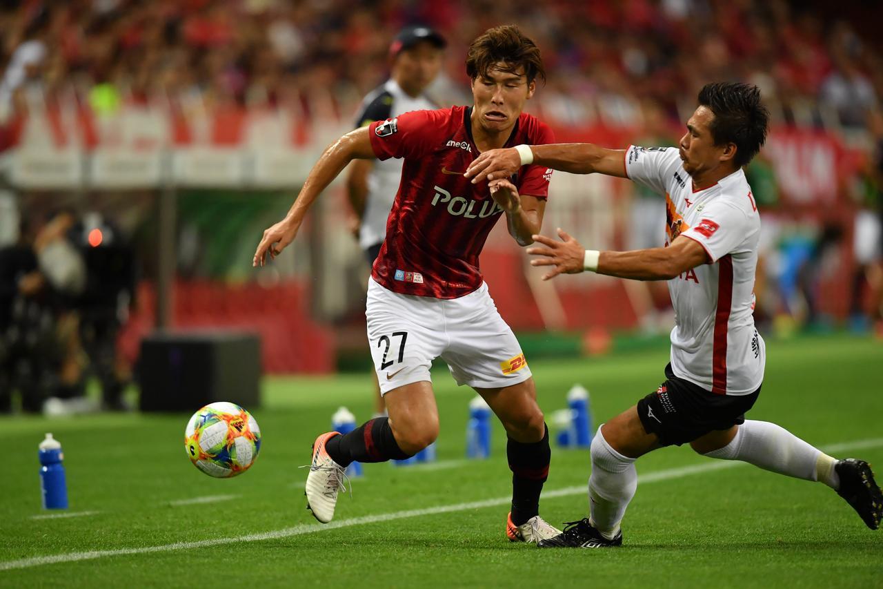 Images : 1番目の画像 - 浦和が終了間際に同点に追いつき、名古屋と勝ち点1を分け合った(写真◎J.LEAGUE) - サッカーマガジンWEB