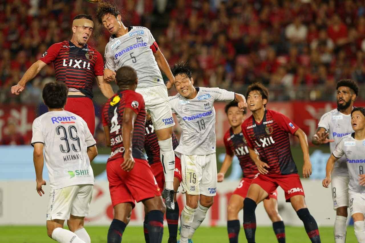 Images : 3番目の画像 - アウェーに乗り込んだG大阪は、パトリックのPKで同点に追いつき勝ち点1獲得(写真◎J.LEAGUE) - サッカーマガジンWEB
