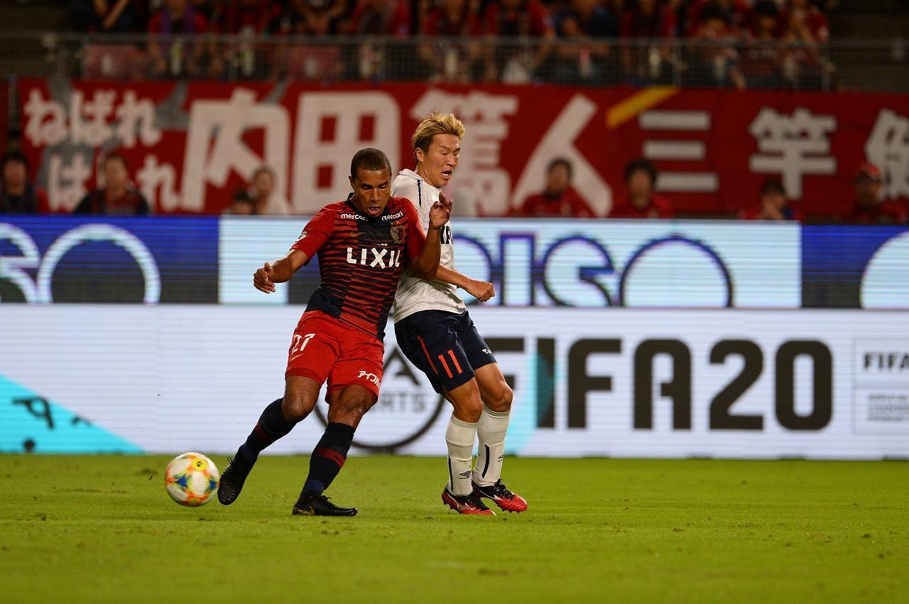 Images : 1番目の画像 - 鹿島が首位FC東京を破り、勝ち点3を積み上げた(写真◎J.LEAGUE) - サッカーマガジンWEB