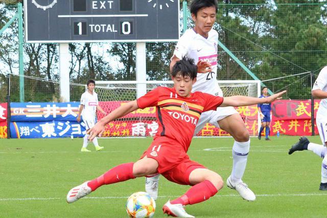 画像: 【Jユース杯】夏の王者・名古屋U-18が広島ユースに勝利し準決勝進出~2ゴールのFW村上千歩「得点王を狙っていきたい」 - ベースボール・マガジン社WEB