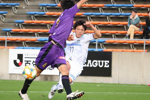 画像: 【Jユース杯】G大阪ユースが京都U-18を振り切りベスト4~決勝点のMF久保勇大「イメージ通りのゴール」 - ベースボール・マガジン社WEB