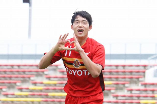 画像: 【Jユース杯】「みなさんのためにも狙っていた」~名古屋U-18・FW村上千歩が地元九州で大会得点王に - ベースボール・マガジン社WEB