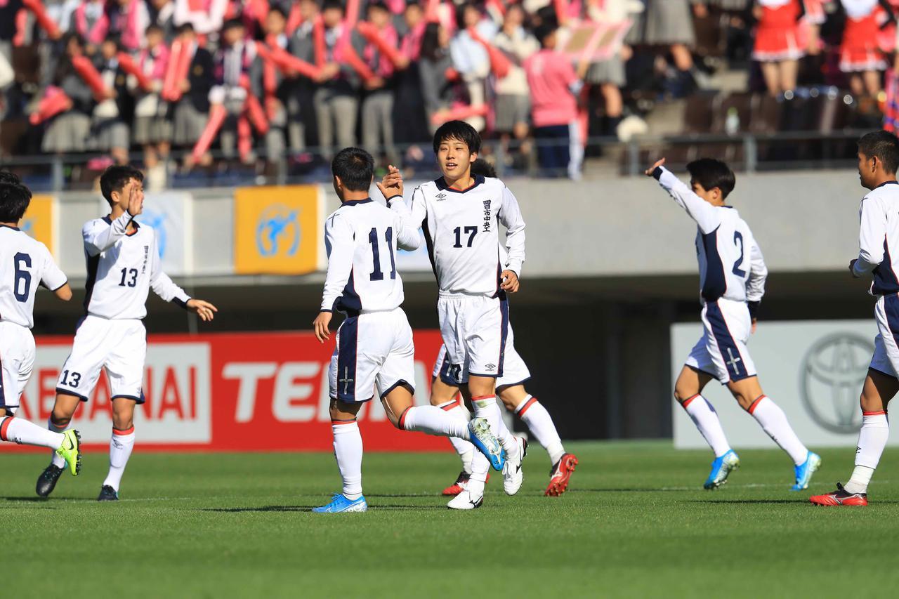画像: 【1回戦】田口、森のゴールで四日市中央工が6大会ぶりに初戦を突破 - サッカーマガジンWEB