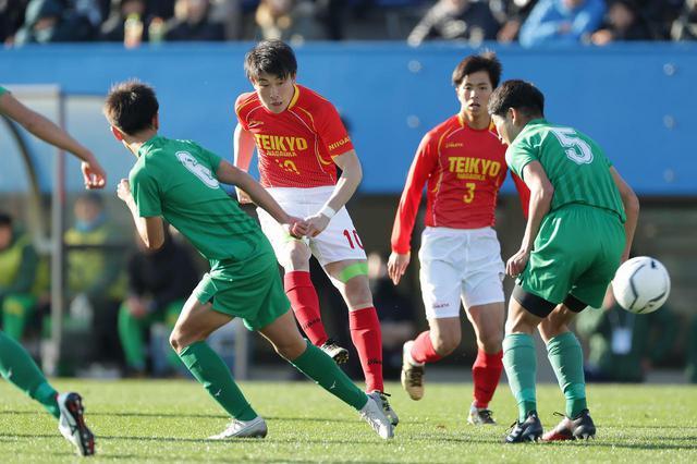 画像: 【2回戦】晴山らのゴールで帝京長岡が熊本国府に3発快勝 - サッカーマガジンWEB