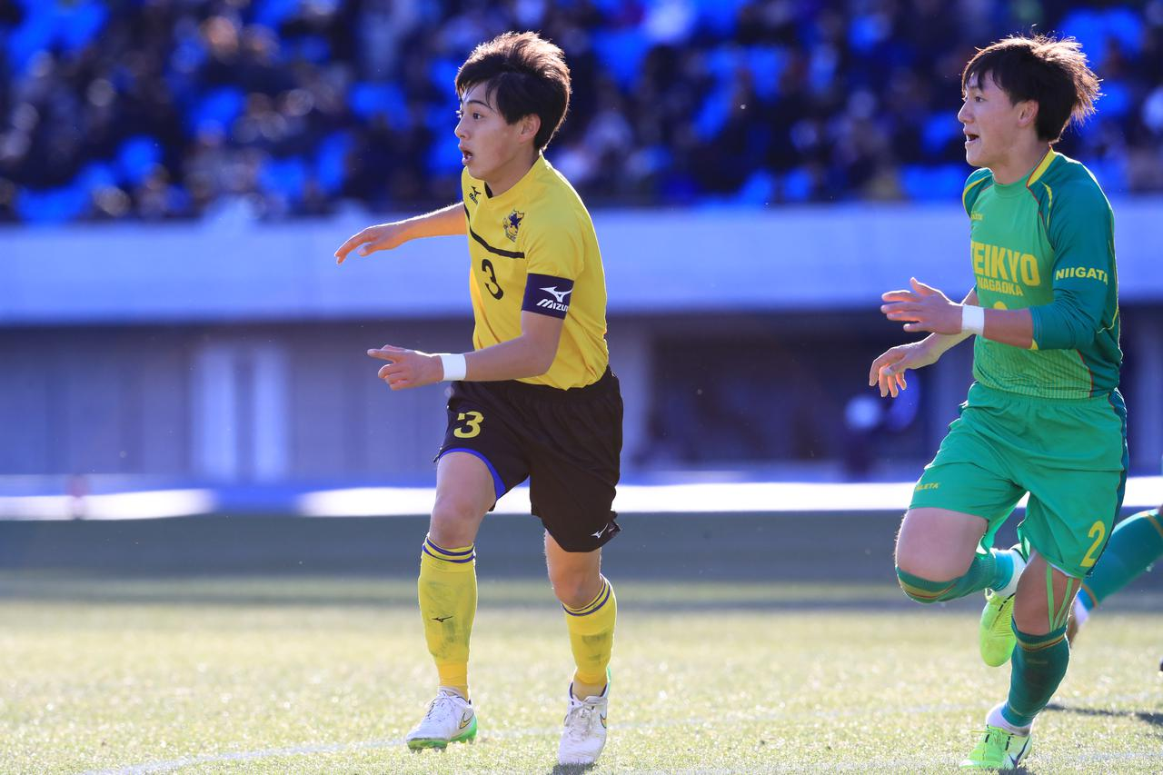 Images : 3番目の画像 - 帝京長岡が仙台育英に1-0で競り勝ち、新潟勢初の4強入り - サッカーマガジンWEB