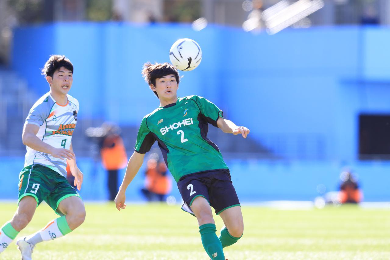 Images : 2番目の画像 - 後半は昌平が主導権を握るも、青森山田が前半のリードを守り切った(写真◎福地和男) - サッカーマガジンWEB