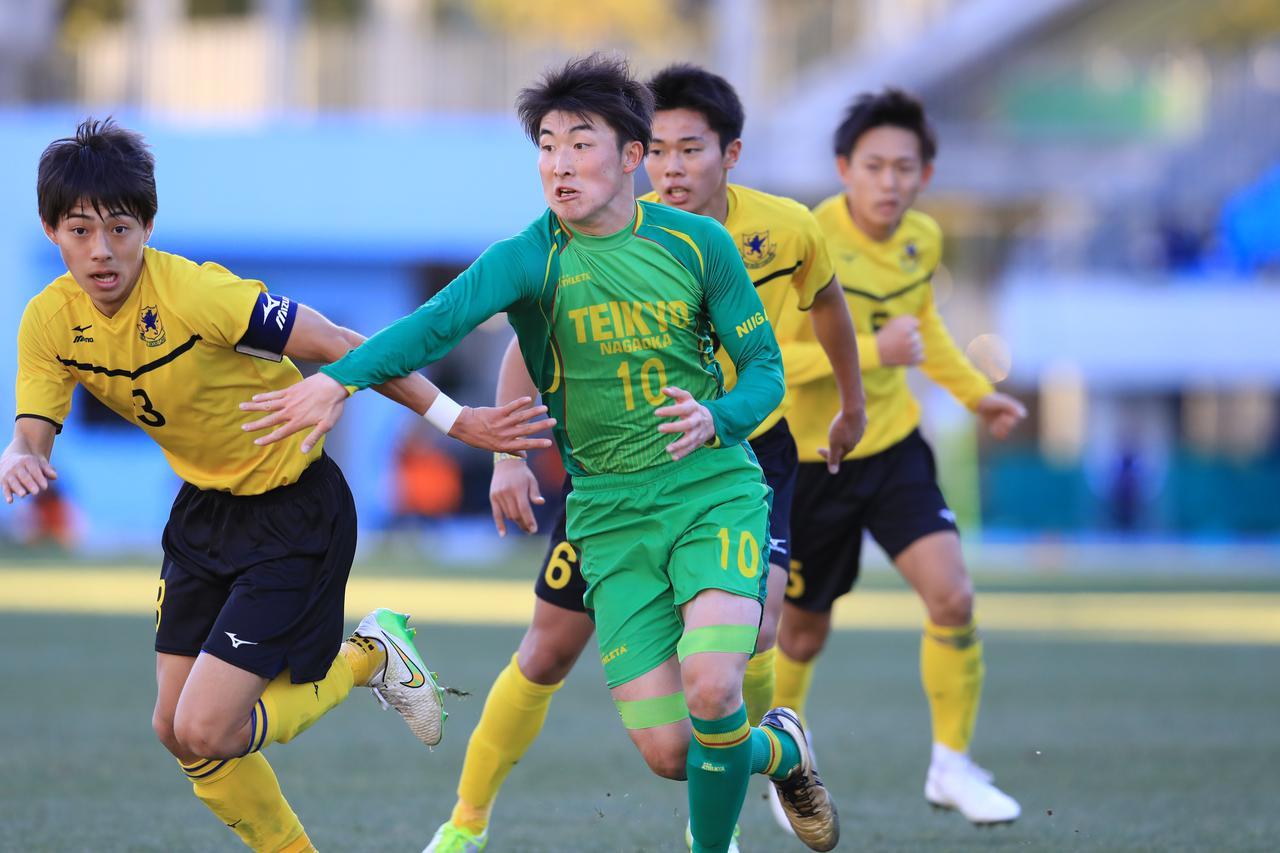 Images : 7番目の画像 - 帝京長岡が仙台育英に1-0で競り勝ち、新潟勢初の4強入り - サッカーマガジンWEB