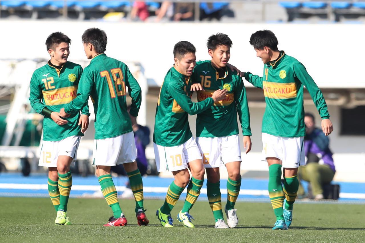 画像: 【1回戦】静岡学園が猛攻6得点、岡山学芸館を寄せ付けず - サッカーマガジンWEB