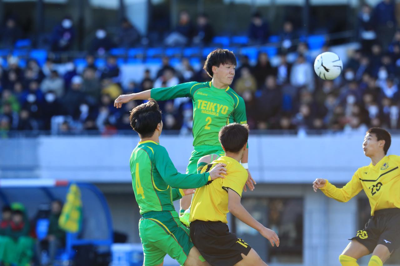 Images : 4番目の画像 - 帝京長岡が仙台育英に1-0で競り勝ち、新潟勢初の4強入り - サッカーマガジンWEB