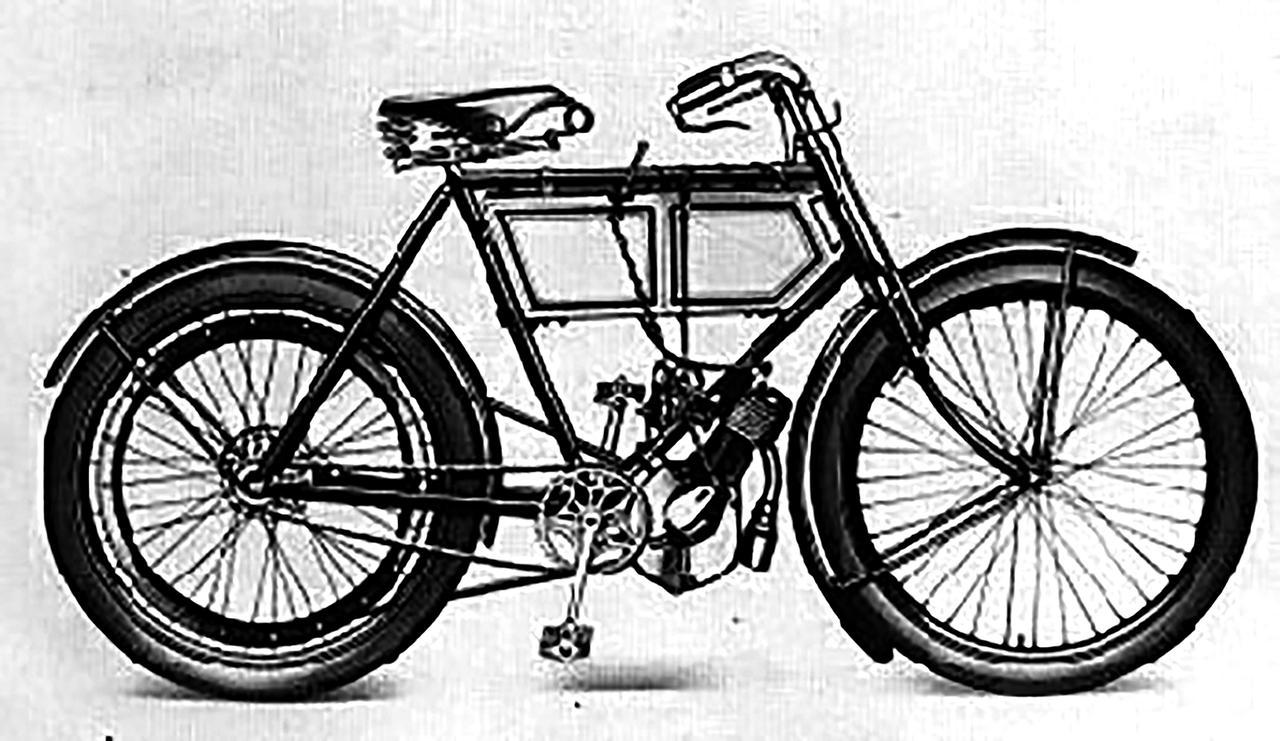 画像: トライアンフ製の第一号車は1902年に製造された。