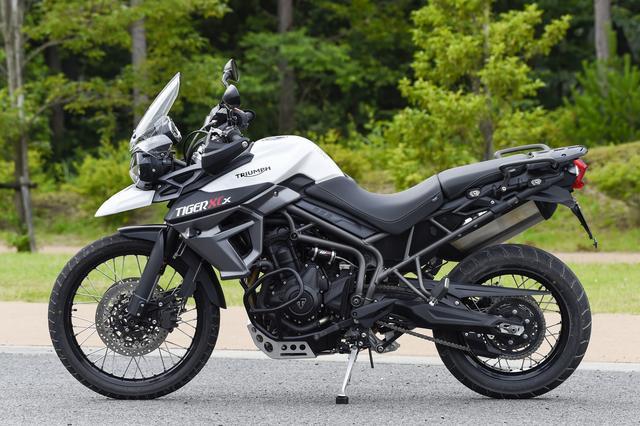 画像: ホンモノの「冒険」バイク