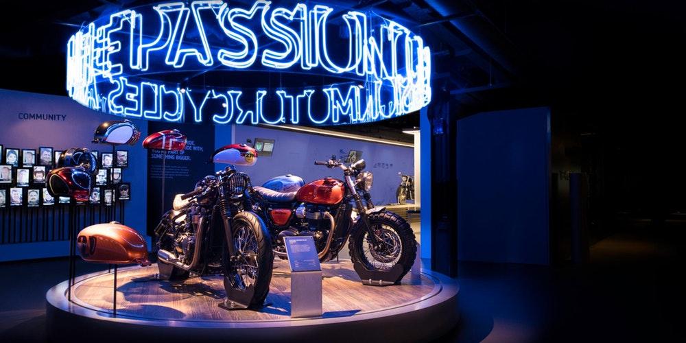 画像1: The Triumph Factory Tour