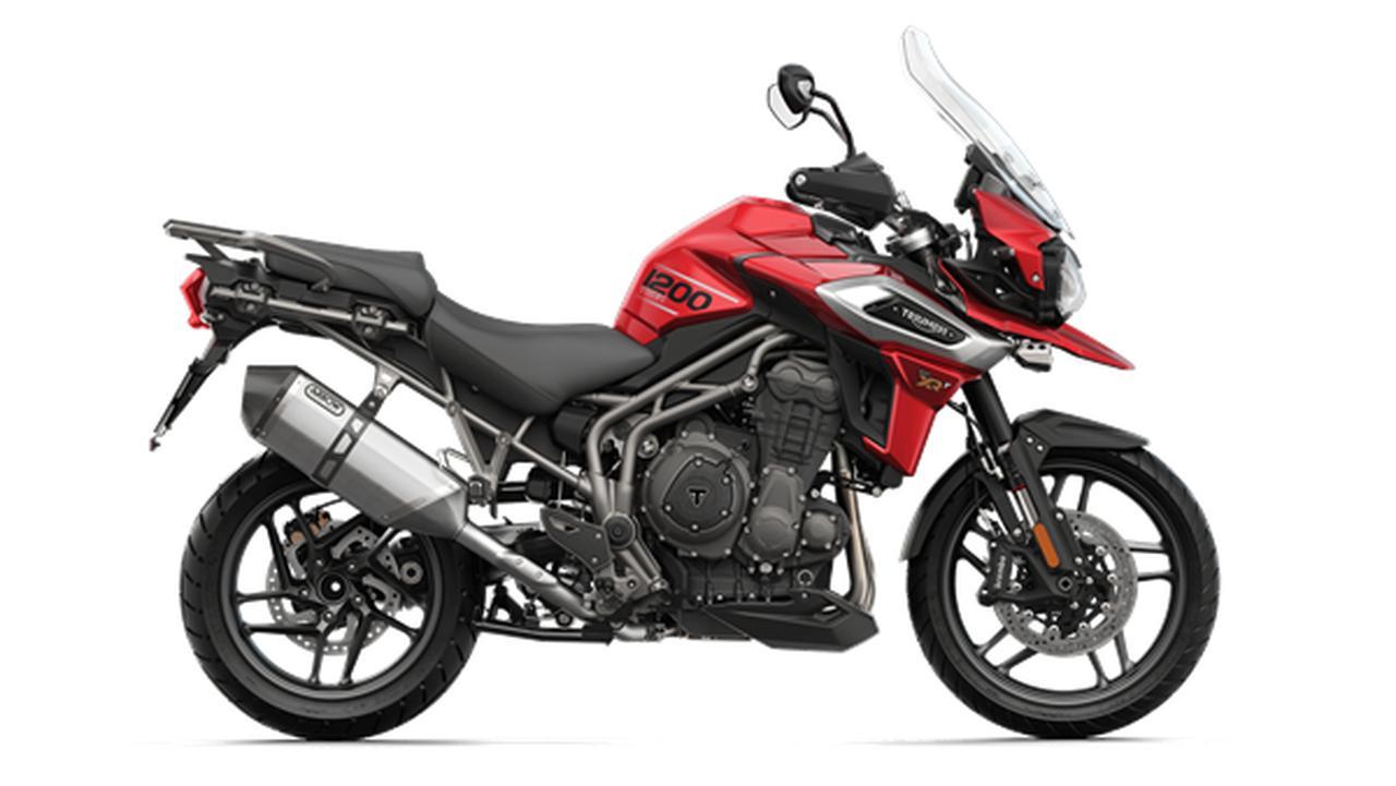 画像: TIGER 1200 XR www.triumphmotorcycles.jp