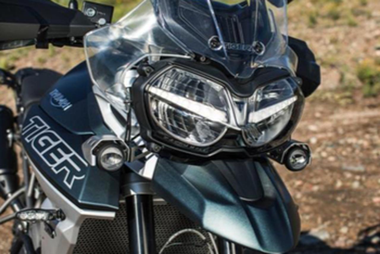 画像: 力強く個性的なシルエット「TIGER 1200XC/XR シリーズ」