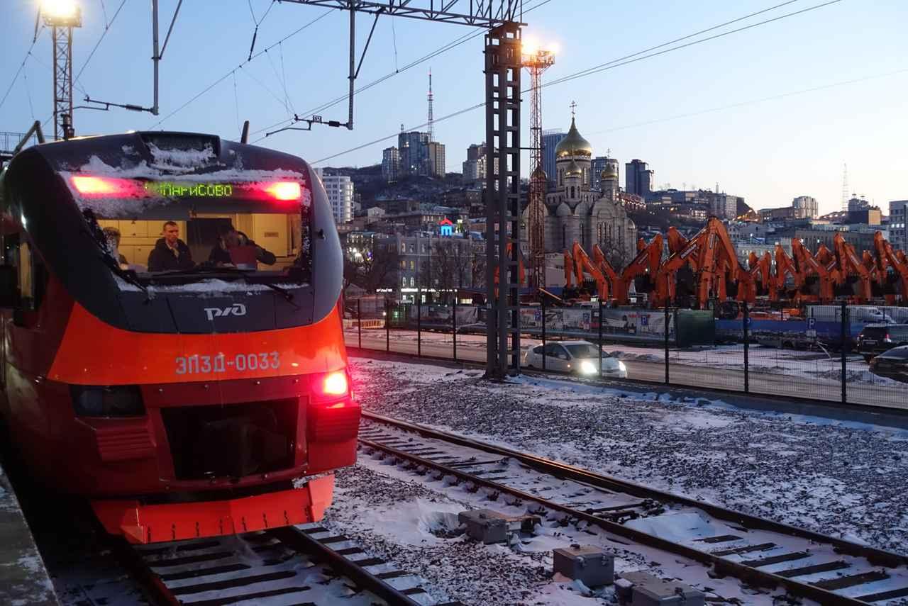 画像: 実際に乗車したシベリア鉄道(東根撮影/2019年12月)