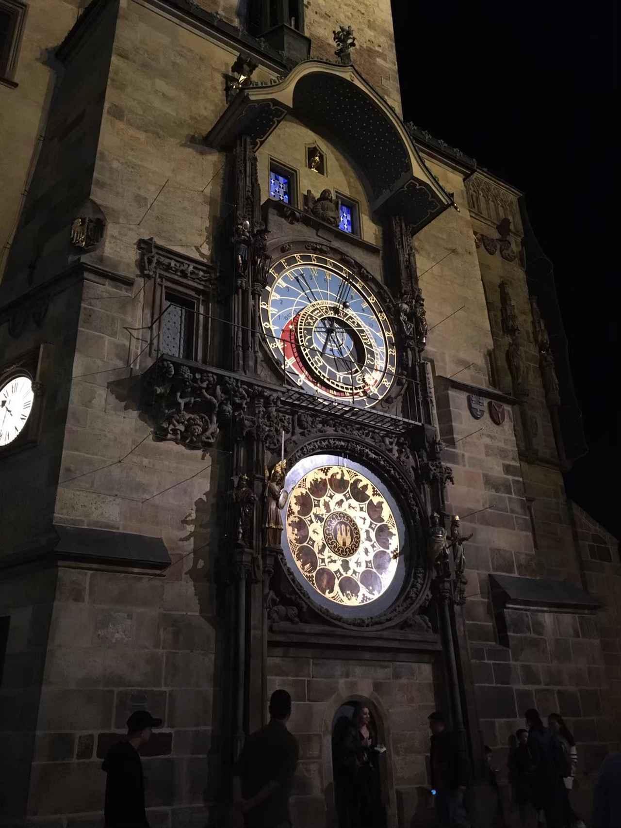 画像: プラハの天文時計/太撮影