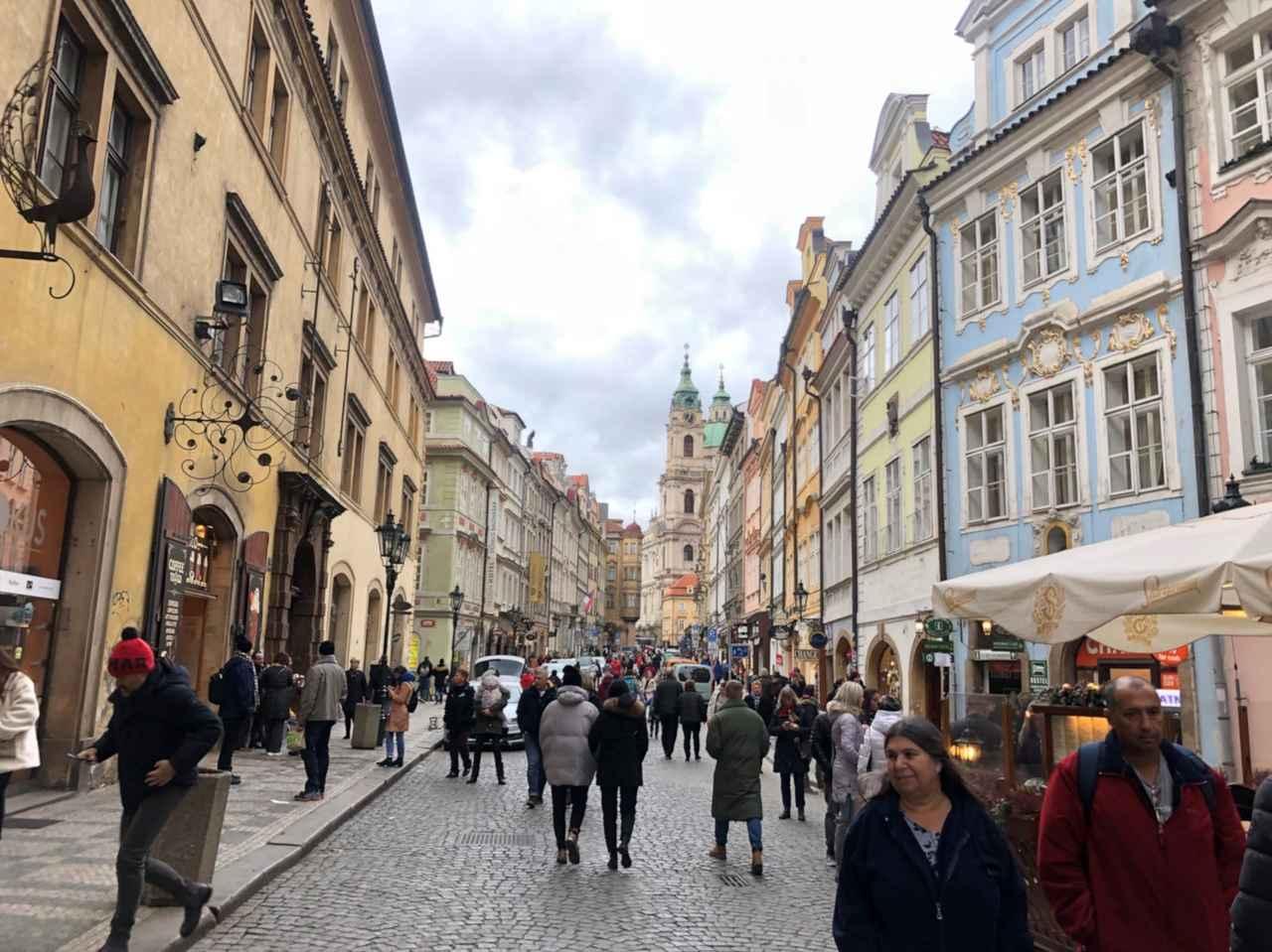 画像: プラハ旧市街の街並み/太撮影