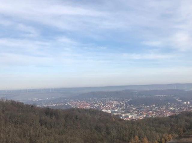 画像: ヴァルトブルク城からの景色/遠藤撮影