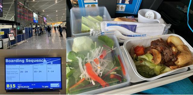 画像: SASエコノミークラスの機内食/馬渕撮影 ※機内食の内容は日や時期などによって異なります