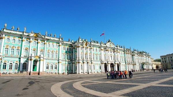 画像: 世界3大美術館のひとつ・エルミタージュ美術館(イメージ)