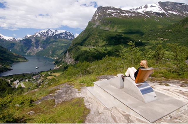 画像: フリーダルスユーヴェ展望台©ノルウェー政府観光局