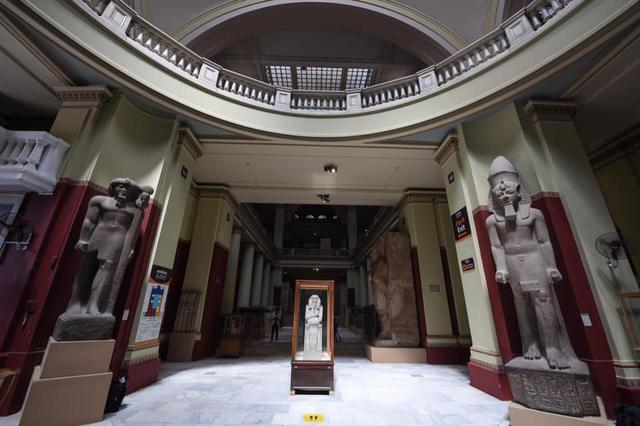 画像: エジプト考古学博物館・修繕された館内(イメージ)/現地手配会社提供